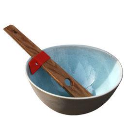 Salatschüssel | Steinzeug