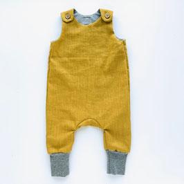 Leinenoverall gelb