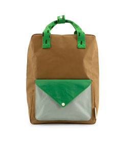 Rucksack gross envelope brassy green