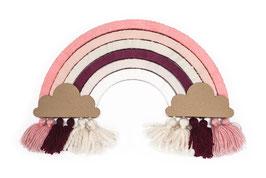 DIY Regenbogen mono pink