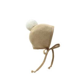 Caramel Pom Bonnet