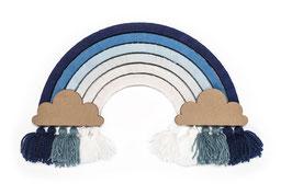 DIY Regenbogen mono blue