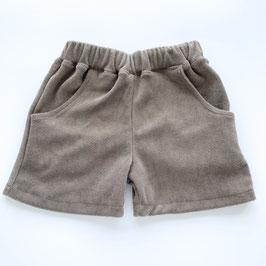 Frottee Shorts schlamm