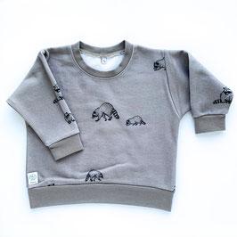 Pullover Waschbär
