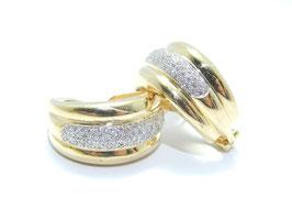 585. Gelbgold mit 1,3 ct Diamanten