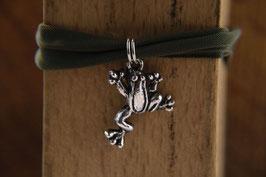 Die Frosch am Jerseyband, Antiksilber
