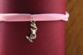 Die kleine Meerjungfrau am Jerseyband, Antiksilber