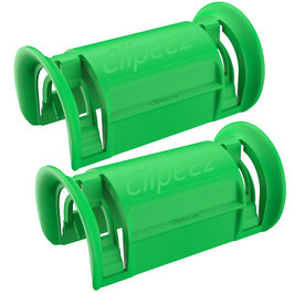 Clipeez® grün - 2er Set