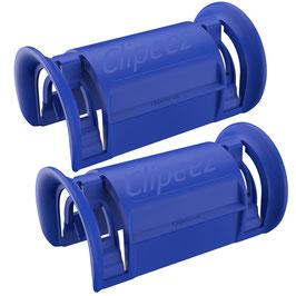 Clipeez® Größe S - 2er Set - blau