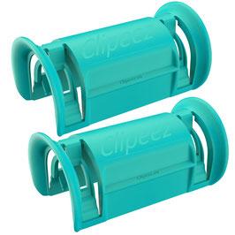 Clipeez® Größe XL - 2er Set - hellblau