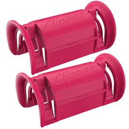 Clipeez® Größe XL - 2er Set - hot pink