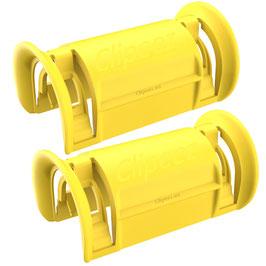 Clipeez® Größe S - 2er Set - gelb