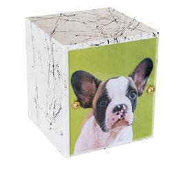 Urna in legno marmorizzata - modello VITA MARMO cod. VITA MARMO W