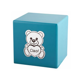 Urna in legno - modello TEDDY -  cod. TEDDY Blu Acqua