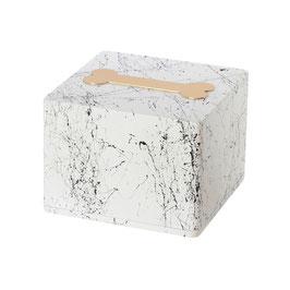 Urna in legno modello Colore con osso effetto marmo - cod. LWOS MARBLEW