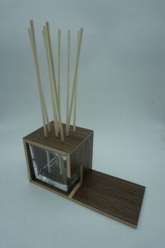 QUUQ 07 kit completo da appoggio in legno