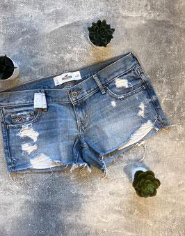 HOLLISTER Jeansshort Gr. 1 (XS)