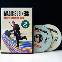 "2 DVDs ""Magic Business"""