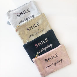 Pochette message Smile everyday