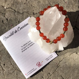 Bracelet de Conscience Cornaline