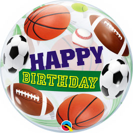 Standard-BubbleBallon - Happy Birthday - Ballsport