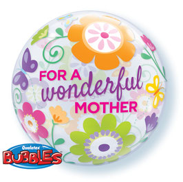 Standard-BubbleBallon - For a wonderful mother