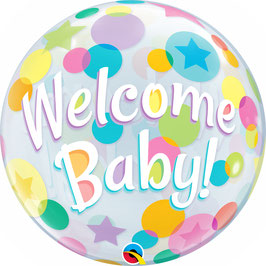 Standard-BubbleBallon - Welcome Baby