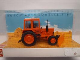 tracteur avec lame HO 1/87 BUSCH Réf:51309