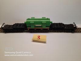wagon transport de charge lourd FLEISHMANN Réf : 1494              ( 3/3)
