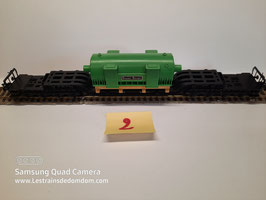 wagon transport de charge lourd FLEISHMANN Réf : 1494              ( 2/3)