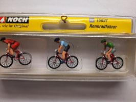 3 cycliste HO 1/87 NOCH  Réf: 15897