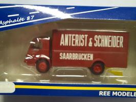 camion Panhard movic HO 1/87 REE Réf :CB-051