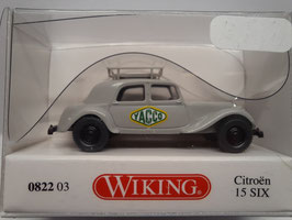"traction Citroën "" yacco"" HO 1/87 WIKING Réf:82203"