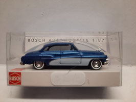 Américaine de luxe bleue HO 1/87 BUSCH Réf:44721