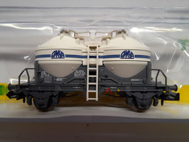 wagon  silo Sté des ciments OMYA     N 1/160  Réf :15664-07  TRIX