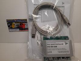 centrale dédiée pour la rétro signalisation  haute vitesse S 88   de chez LDT  ref : HSI-S88-USB