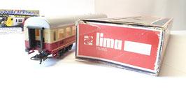 voiture voyageur + bar DSG  de la marque LIMA (réf : dom 37 )
