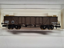 wagon tombereau a bogie  N  1/160 Réf:948730 FLEISCHMANN
