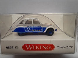 Citroën 2 CV  original HO 1/87 WIKING Réf: 80912