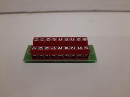 bornier distributeur 1 pole  rouge