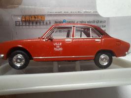 504 Peugeot des pompiers HO 1/87 BREKINA Réf:29109