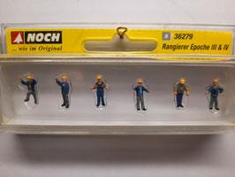 6 ouvriers  N- 1/160 NOCH Réf :36279