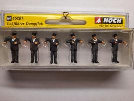 mécanicien vapeur HO 1/87 NOCH Réf: 15281