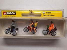 3 cyclistes  HO 1/87 NOCH Réf : 15898