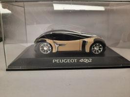 Peugeot 4002 échelle 1/43 en BO  (Réf dom28 )