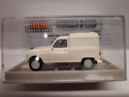 4 L Renault blanche HO 1/87 BREKINA réf:14700