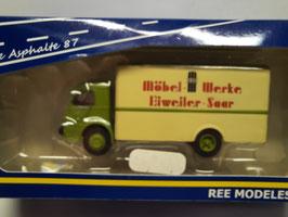 camion Panhard movic  HO 1/87 REE Réf :CB-052