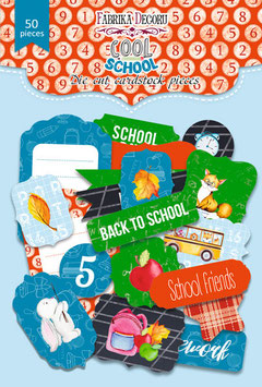 "Fabrika Decoru Die Cuts ""Cool School"""