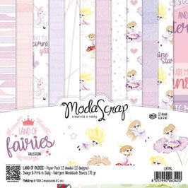ModaScrap Motivpapier - Land of Fairies