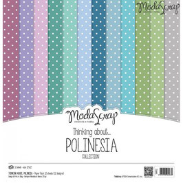 ModaScrap 12x12 Paper Pack - Thinking About Polinesia